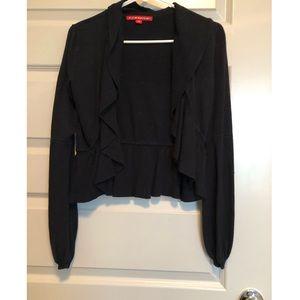 Sweaters - Black Cardigan- Size M